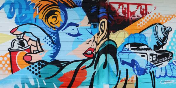 graffiti without gravity bustart